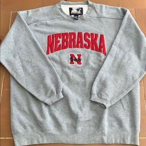 Nebraska Cornhusker STARTER Crewneck Sweatshirt